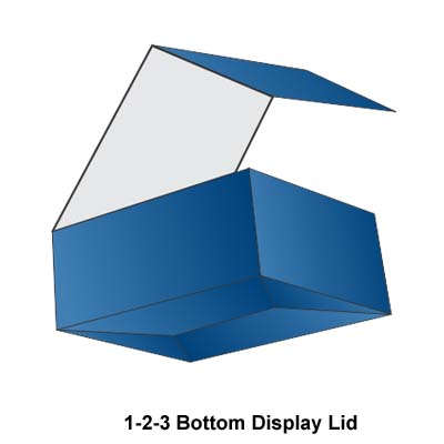1-2-3 Bottom Display Lids