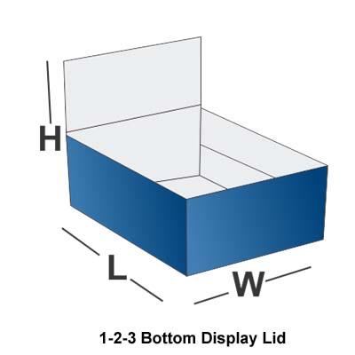 1-2-3 Bottom with Display Lid