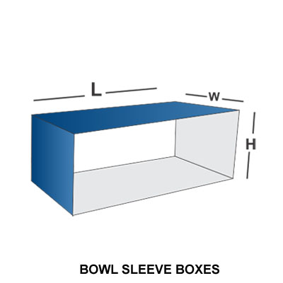 BOWL SLEEVE BOX