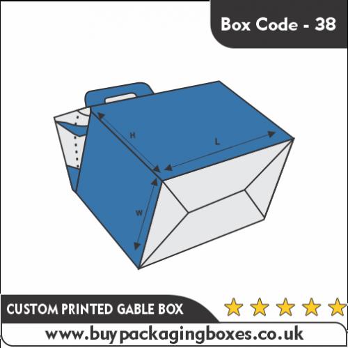 CUSTOM PRINTED GABLE BOX