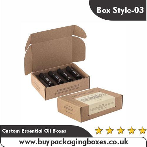 Custom Essential Oil Packaging Boxes