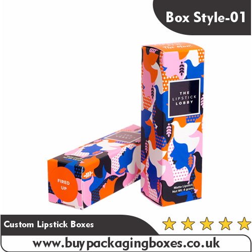 Custom Lipstick Boxes and Lipstick Packaging