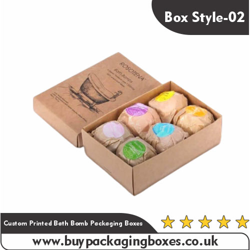 Custom Printed Bath Bomb Packaging Boxes