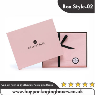 Custom Printed EyeShadow Packaging Boxes
