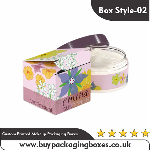Custom Printed Makeup Packaging Boxes