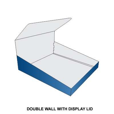 DOUBLE WALL DISPLAY
