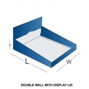 DOUBLE WALL WITH DISPLAY
