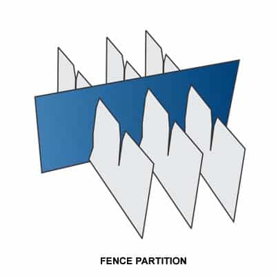 FENCE PARTITION BOX