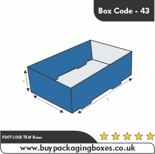 FOOT LOCK TRAY Boxes