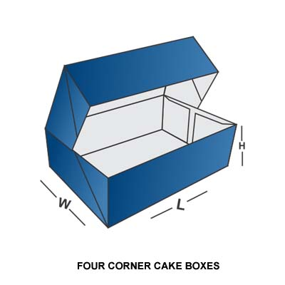 FOUR CORNER CAKE