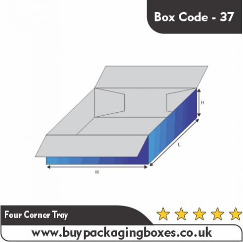 FOUR CORNER TRAY BOXES