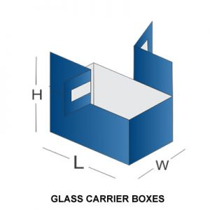 GLASS CARRIER BOXES