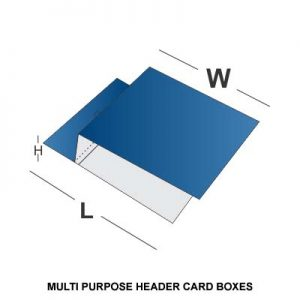 MULTI PURPOSE HEADER CARD BOXES