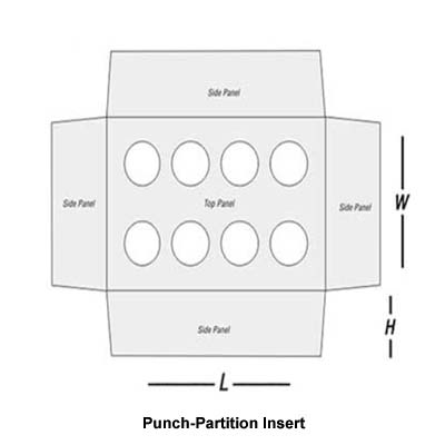 Punch-Partition Insert