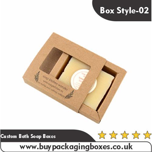 Custom Bath Soap Boxes