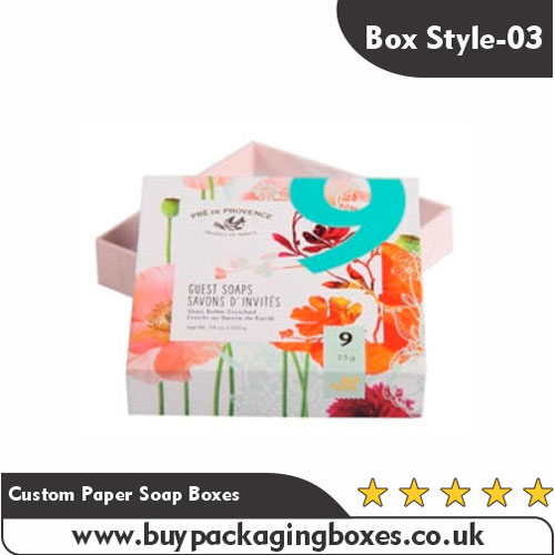 Custom Paper Soap Boxes