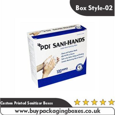 Custom Printed Sanitizer Boxes
