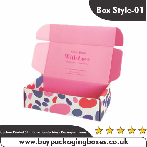 Custom Skin Care Beauty Mask Boxes
