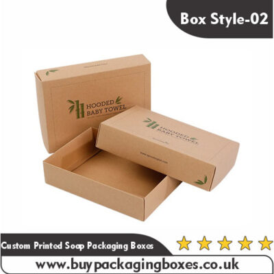 Custom Printed Soap Packaging Boxes