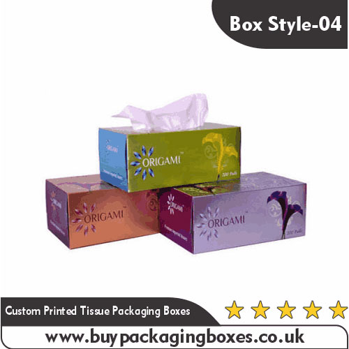 Custom Printed Tissue Packaging Boxes