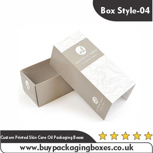 Custom Skin Care Oil Boxes
