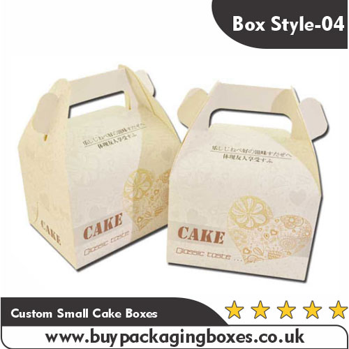 Custom Small Cake Boxes