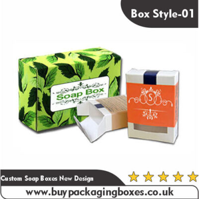 Custom Soap Boxes New Design