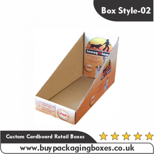 Custom Cardboard Retail Boxes