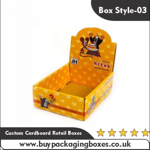 Custom Cardboard Retail Boxes