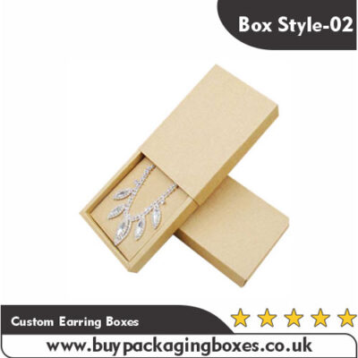 Custom Earring Boxes