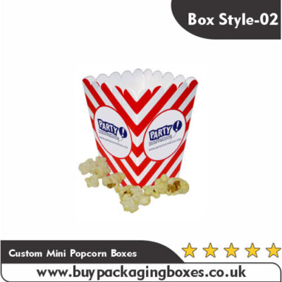Custom Mini Popcorn Boxes