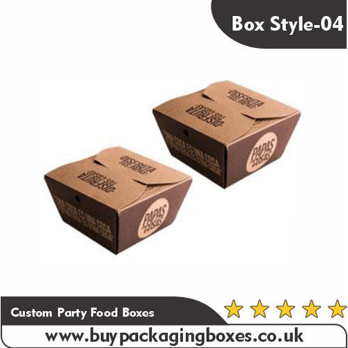Custom Party Food Boxes