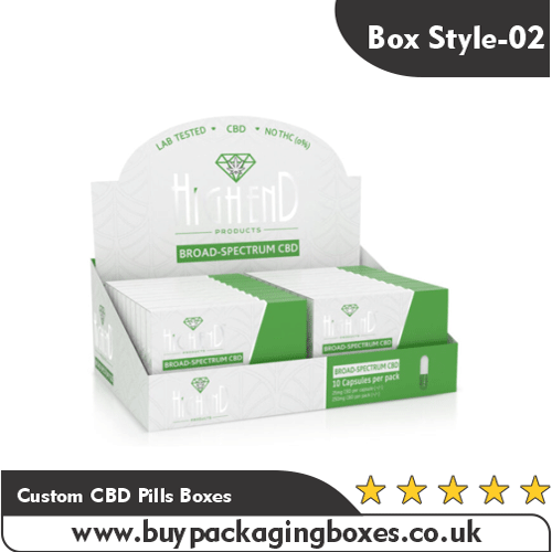Custom CBD Pills Boxes