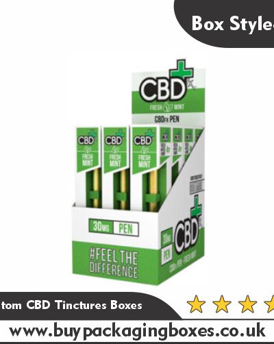 Custom CBD Tinctures Boxes