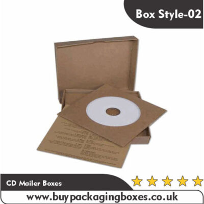 Custom CD Mailer Boxes