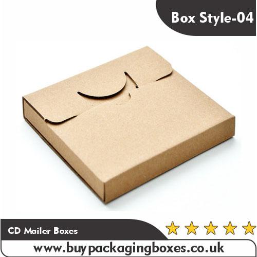 Custom CD Mailer Boxes