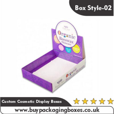 Custom Cosmetic Display Boxes