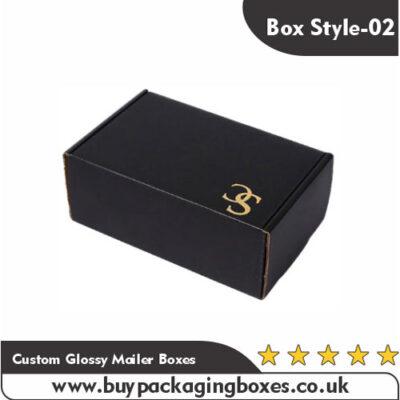 Custom Glossy Mailer Boxes