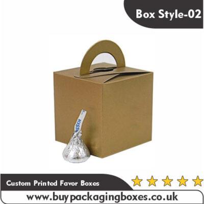 Custom Printed Favor Boxes