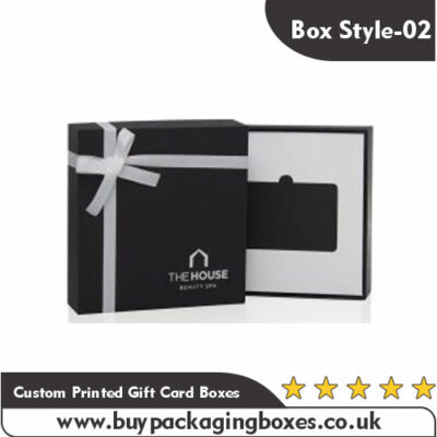 Custom Printed Gift Card Boxes