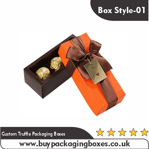 Custom Truffle Packaging Boxes