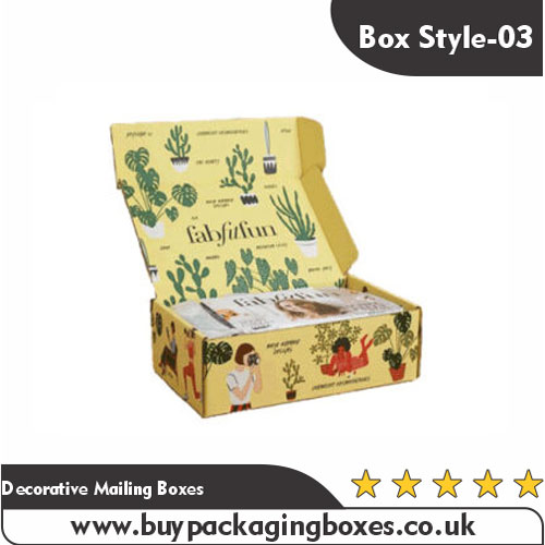 Decorative Mailing Boxes