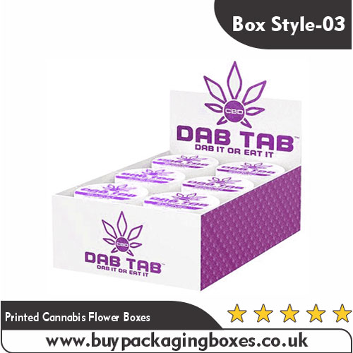 Printed Cannabis Flower Boxes
