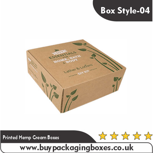 Printed Hemp Cream Boxes (4)