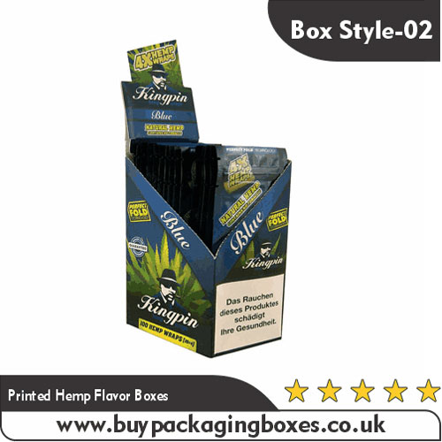 Printed Hemp Flavor Boxes