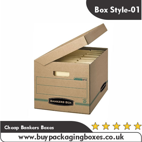 Cheap Bankers Boxes