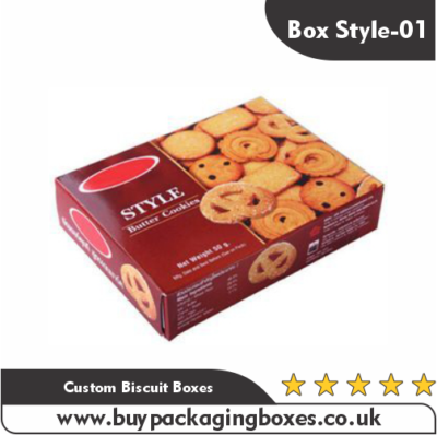 Custom Biscuit Boxes