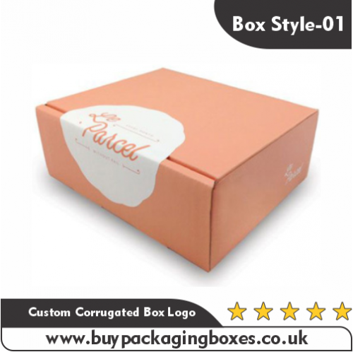 Custom Corrugated Boxes With Logo