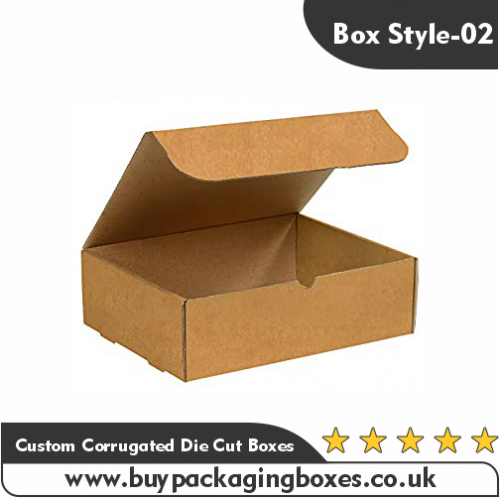 Custom Corrugated Die Cut Boxes