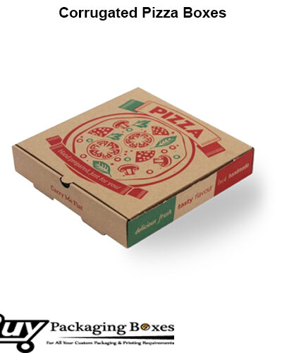 Custom Corrugated Pizza Boxes